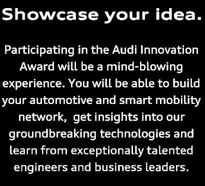 Audi Innovation Audi Taiwan 2018